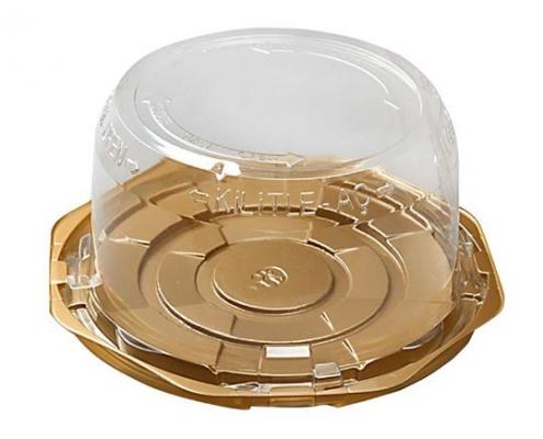 kilitle aç pasta kabı toptan plastik yaş pasta kabı